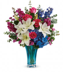 Teleflora's Ocean Dance Bouquet from Carl Johnsen Florist in Beaumont, TX